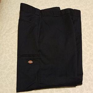 Dickies loose fit navy work pants. 36x30